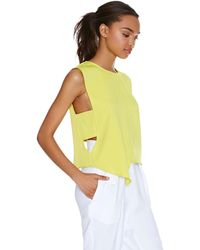Nasty Gal Playing Angles Top - Lyst
