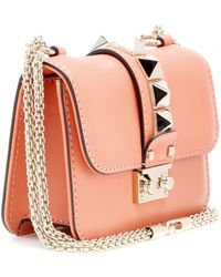 Valentino Lock Mini Leather Shoulder Bag - Lyst