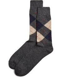 The Men's Store At Bloomingdale's | Cashmere Argyle Socks | Lyst