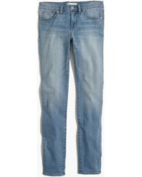 Madewell Skinny Skinny Jeans In Lydon Wash - Lyst