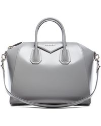Givenchy Gray Medium Antigona - Lyst