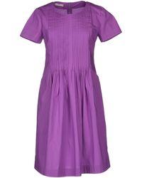Stefanel Short Dress - Lyst