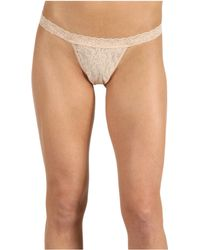 Hanky Panky Signature Lace G-String - Lyst
