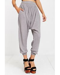 Kimchi Blue Extreme Dropped-crotch Trouser Pants - Lyst