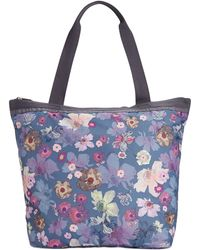 Lesportsac Blue Hailey Tote - Lyst