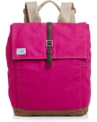 TOMS - Backpack - Excursion Waxed Canvas - Lyst