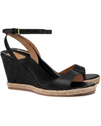 7df0a9639a76 Tory Burch - Marion Quilted Espadrille Wedge Sandal - Lyst