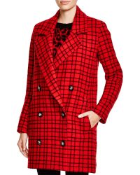 Essentiel | Caras Plaid Coat | Lyst