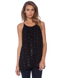 Milly Fly Away Tank - Lyst