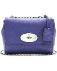 Mulberry Lily Texturedleather Shoulder Bag - Lyst