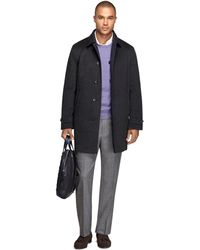 Brooks Brothers Singlebreasted Reversible Trench - Lyst