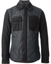 Michael Kors Quilted Jacket - Lyst