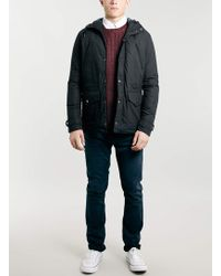 Lac Bk Hooded Jacket - Lyst