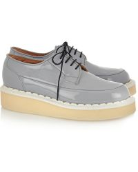 Purified - + George Cox Patent-Leather Creepers - Lyst