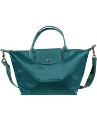 Longchamp Le Pliage Borsa Piccola Smeraldo - Lyst
