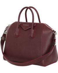 Givenchy Medium Antigona Grained Leather Bag - Lyst