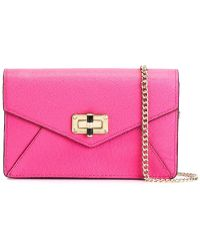 Diane von Furstenberg | 440 Gallery Bitsy Mini Leather Cross-Body Bag  | Lyst