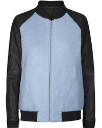 Francis Leon - New Outsiders Wool And Leather Jacket - Lyst