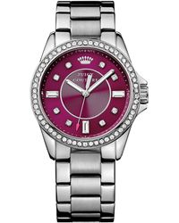 Juicy Couture Womens Stella Stainless Steel Bracelet Watch 36mm - Lyst