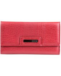 Kenneth Cole Reaction Never Let Go Trifold Flap Clutch Wallet - Lyst