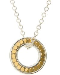 Anna Beck - Bali Mini Open Circle Necklace - Lyst