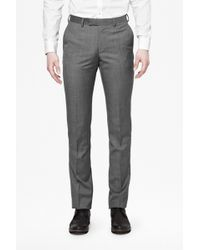 French Connection Sharkskin Suit Trousers - Lyst
