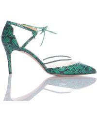 02a1d407d1c Bionda Castana - Dree Emerald Green Studded Tie Pumps - Last Pair By - Lyst