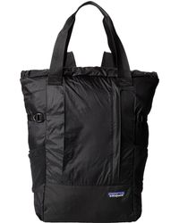 Patagonia Lw Travel Tote Pack - Lyst