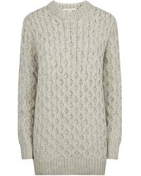 Michael Kors Honeycomb Sweater - Lyst