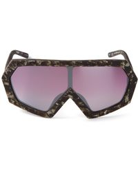 KTZ - Angular Mask Sunglasses - Lyst