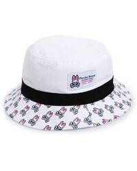 Psycho Bunny - 'sunburst' Bucket Hat - Lyst