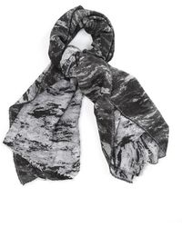 Rag & Bone Distortion Jacquard Scarf - Lyst