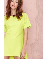 Nasty Gal About Lime Dress - Lyst