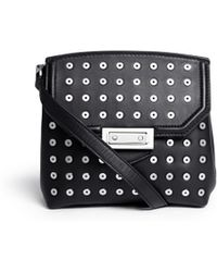 Alexander Wang 'Marion' Eyelet Leather Crossbody Bag - Lyst