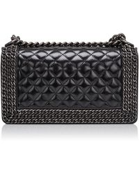 Madison Avenue Couture - Limited Edition Chanel Chained Medium Boy Bag - Lyst