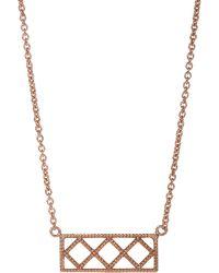 Grace Lee - Petite Deco Ix Pendant Necklace - Lyst