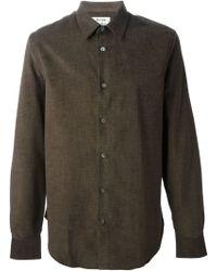 Acne Studios Mario Cord Shirt - Lyst