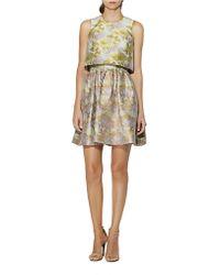 Cynthia Rowley Floral Print Popover Dress - Lyst