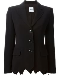 Moschino Cheap & Chic Fitted Blazer Jacket - Lyst