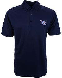 Cutter & Buck - Men's Short-sleeve Tennessee Titans Polo - Lyst