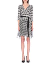Diane von Furstenberg Riviera Silk And Chiffon Wrap Dress - For Women - Lyst
