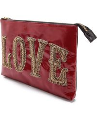 Jonathan Adler - Double Sided Large Pouch - Lyst