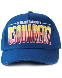 DSquared2 Embroidered Logo Cap - Lyst
