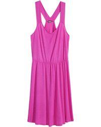 H&M + Jersey Dress - Lyst