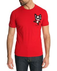 DSquared² Red Chic Dan Fit Dog Tshirt - Lyst