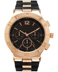 Forever 21 - Silicone Band Chronograph Watch - Lyst