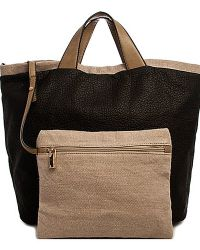 Bungalow 20 - Black And Gray Reversible Two-Tone Shopper - Lyst