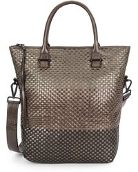 Elliott Lucca - Basketweave Leather Tote - Lyst