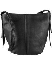 Cole Haan Lockhart Leather Crossbody Bag black - Lyst