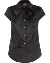 Vivienne Westwood Anglomania Approval Stretch-cotton Shirt - Lyst